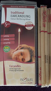 Holistic Facial / Ear Candling / Facial Cupping. Ear Candles with Packet 2