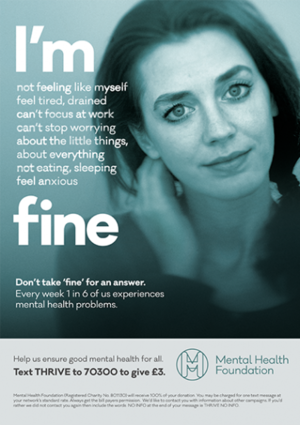 BLOG / NEWS. I'm Fine - Mental Health