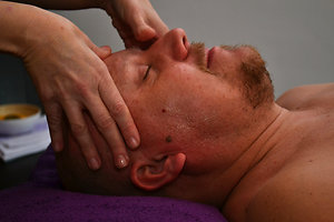 Holistic Facial / Ear Candling / Facial Cupping. Ian facial
